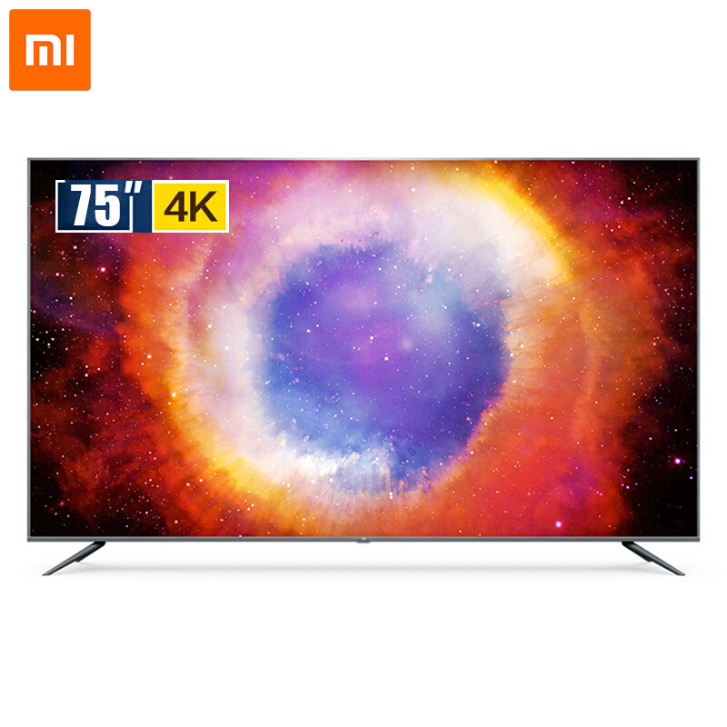 Original Xiaomi Mi <strong>TV</strong> 4S 75-inch 4K Ultra HD Smart LED <strong>TV</strong> Android Wifi Voice Remote Control Ultra-thin FHD 2GB+8GB Dolby+DTS