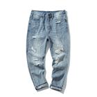 Ready To Ship New Style Pent Boy Pants Mens Hip Hop Pantalones Jeans