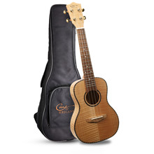 Hricane <span class=keywords><strong>Concert</strong></span> <span class=keywords><strong>Ukulele</strong></span> <span class=keywords><strong>23</strong></span> <span class=keywords><strong>Inch</strong></span> Flame Maple Professionele Hawaiian Ukeleles Voor Beginners Met Gig Bag Strings