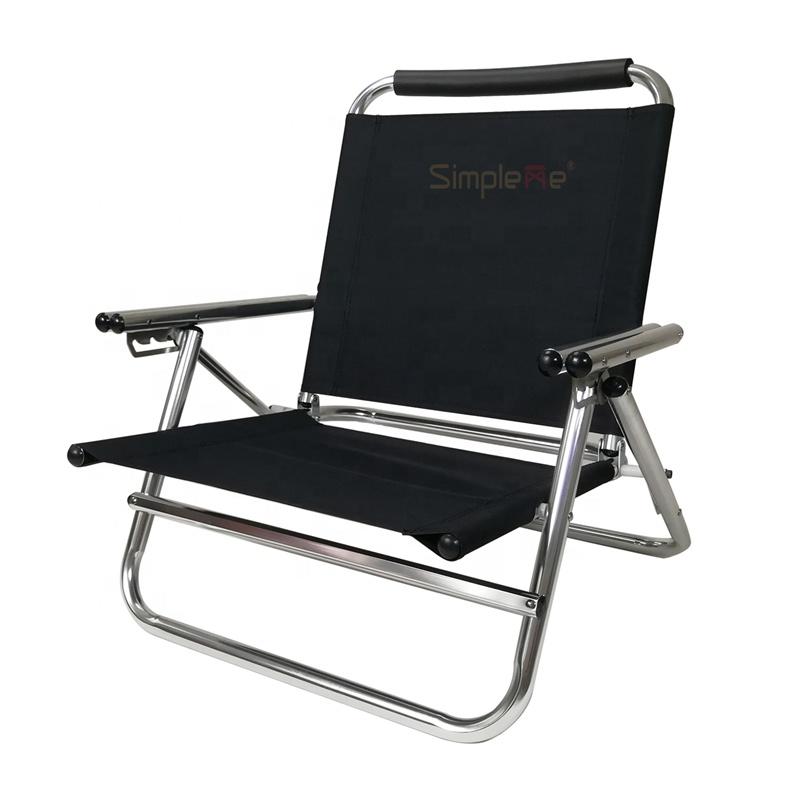 새로운 디자인 알루미늄 경량 없음 부식 접이식 비치 의자
