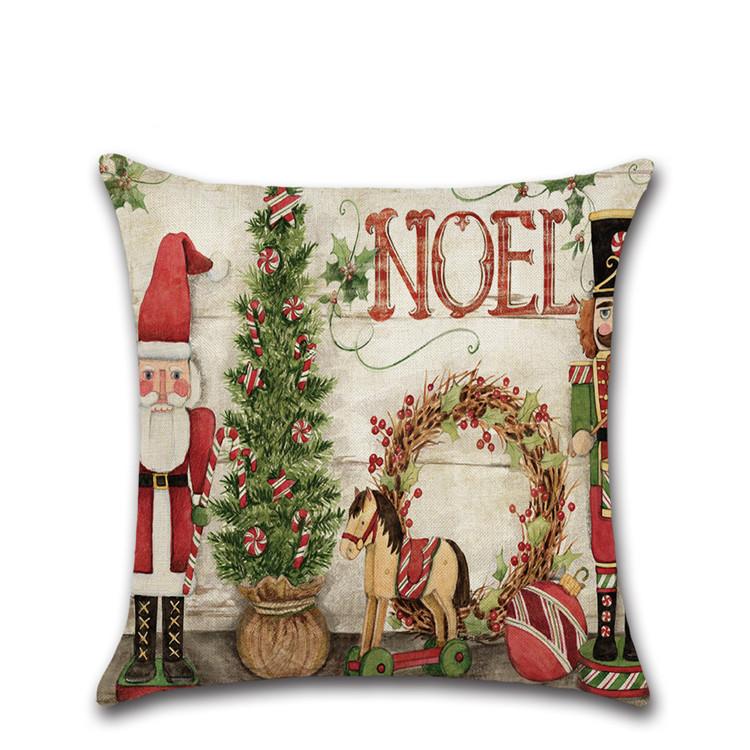 新デザイン装飾クリスマス枕クッションカバー