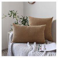 Nordic Style Corduroy cushion pillow case throw pillow case cushion covers