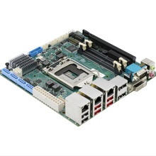 Mini-ITX integrado placa base 3*1000M tarjetas de red WiFI Bluetooth 4G Intel Q370 Chipset Triple <span class=keywords><strong>pantalla</strong></span> para la reproducción de Video HD