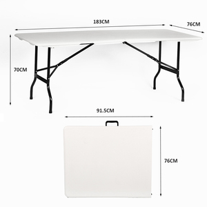 High Quality Customized Wholesale Household Outdoor Portable Folding Table