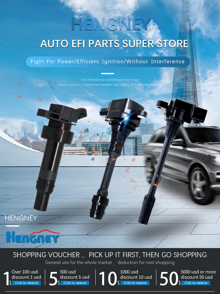Auto peças de alta energia Para BYD G3 L3 F3 473QE 3705100 FK0444 bobina de ignição com o módulo