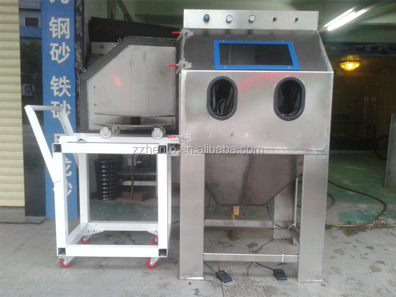 Top Selling Wet Blasting Cabinet / Sandblaster Machine For Sale