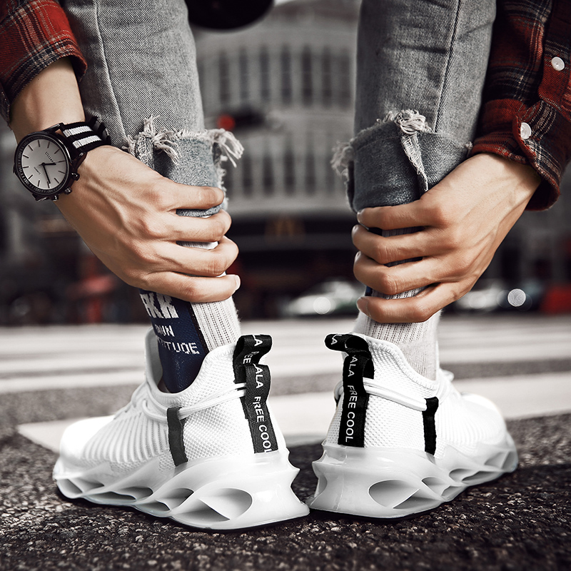 2020 New Profession Running Shoes for Men Damping Blade Cushioning Sport Shoes Fast Run Shoes Athletic Sneakers Zapatillas