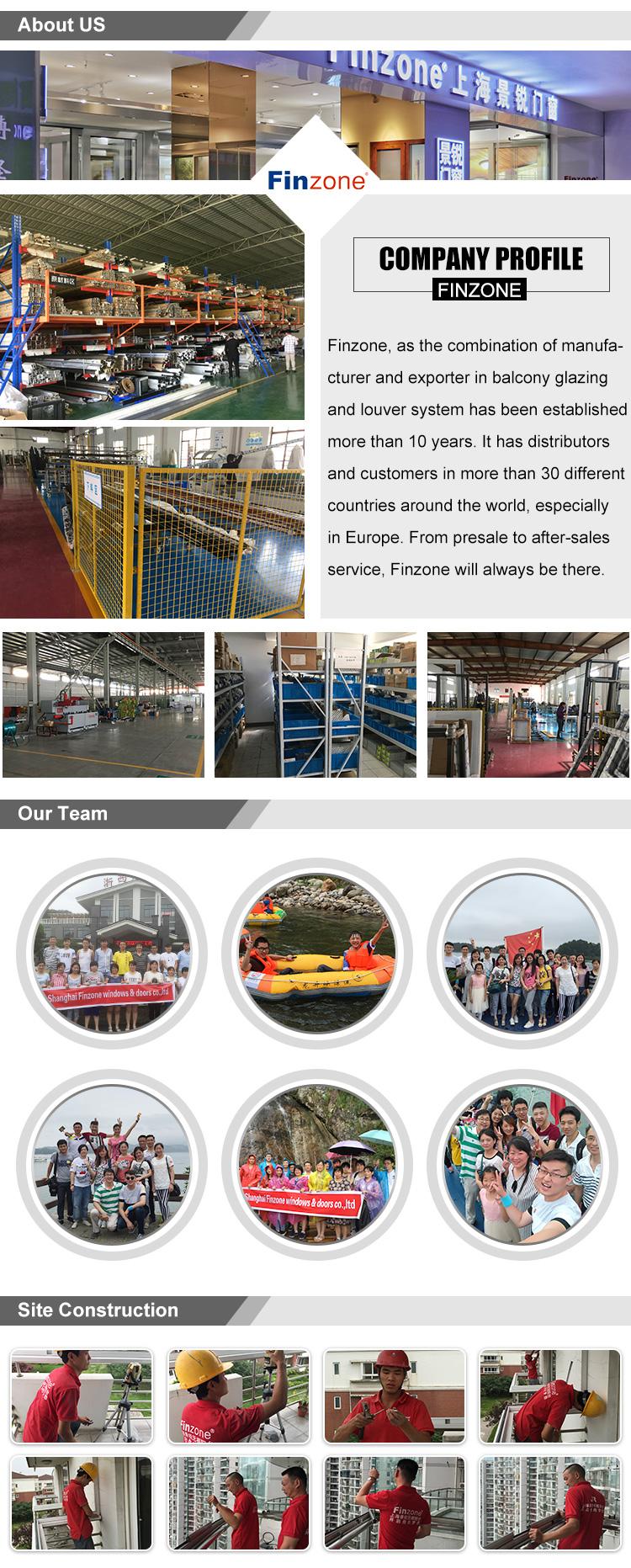 Cina a buon mercato in alluminio tende da sole finestre di alluminio pergola