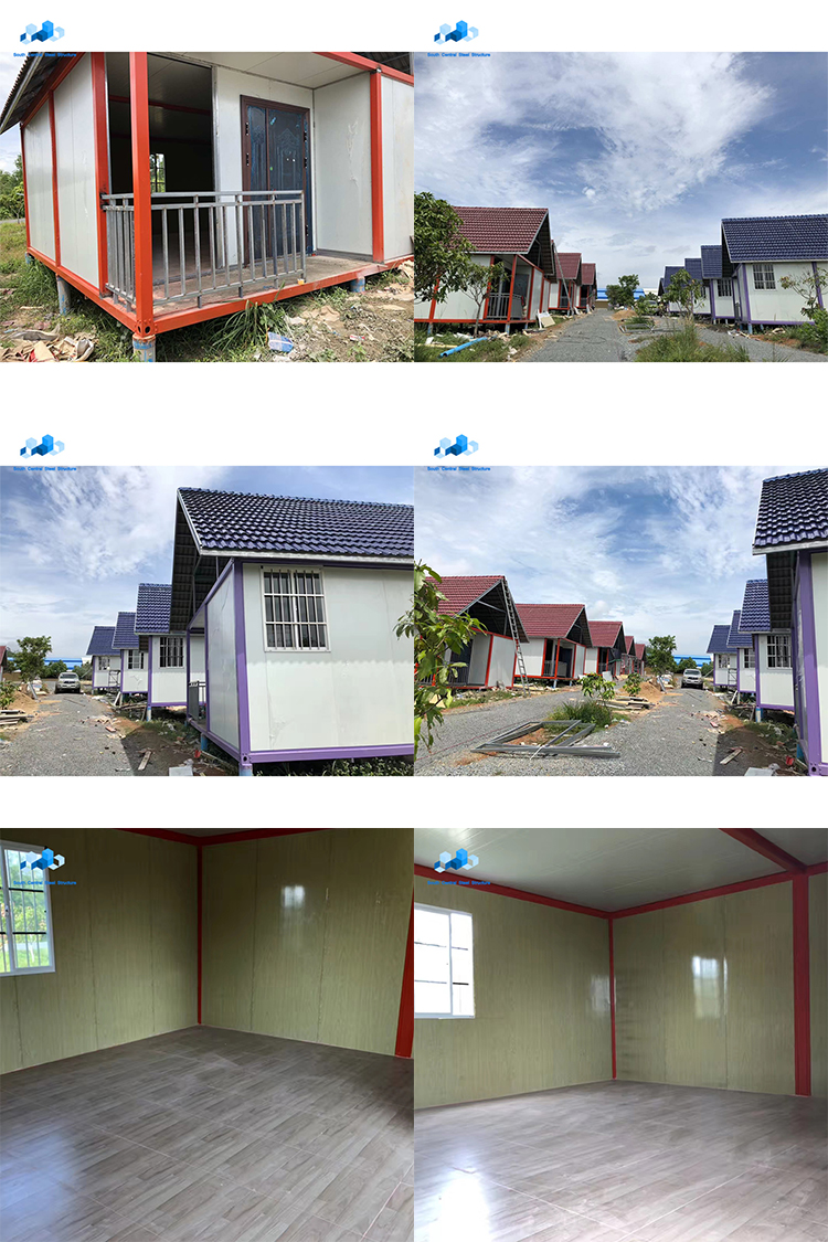 china portable duplex assemble living house iso cement container