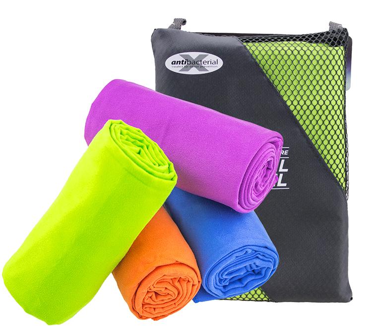 Microfibra All'ingrosso Sport Asciugamano Palestra Asciugamano Con Tasca Con Zip