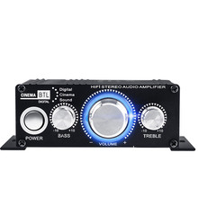 Kinter Ma-170 Portable 2 Channel Power Amp Mini <span class=keywords><strong>Audio</strong></span> <span class=keywords><strong>Amplifier</strong></span>