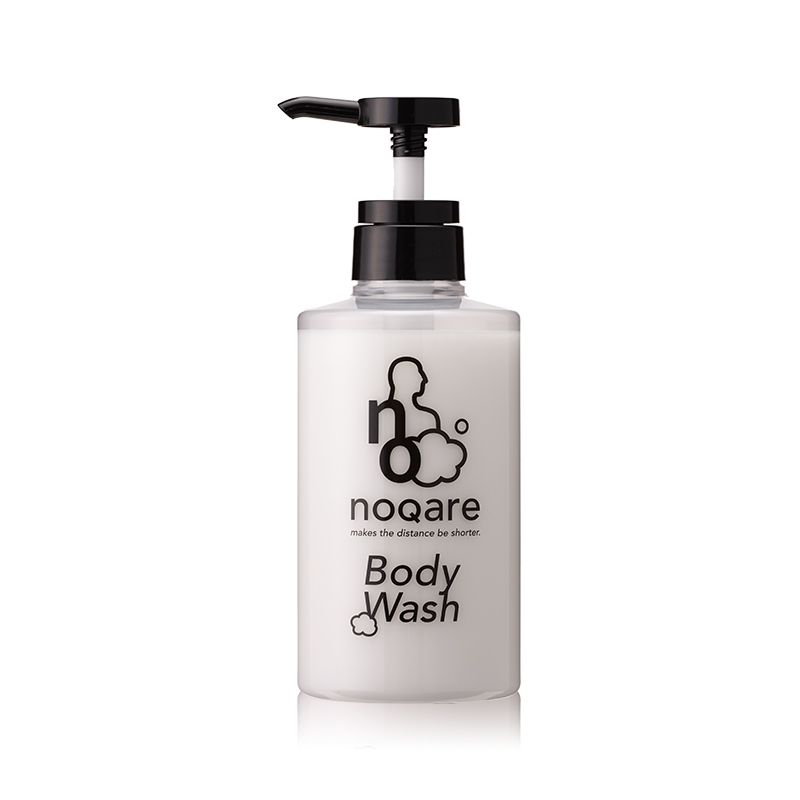 NOQARE Botanical & Fragrant Refreshing Body Wash for men from JAPAN