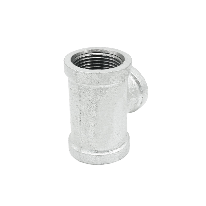 Guangzhou fair galvanized pipe and fittings malleable iron pipe fitting tees for water supply system