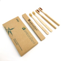 2019 hot selling eco-friendly zero waste bamboo toothbrush