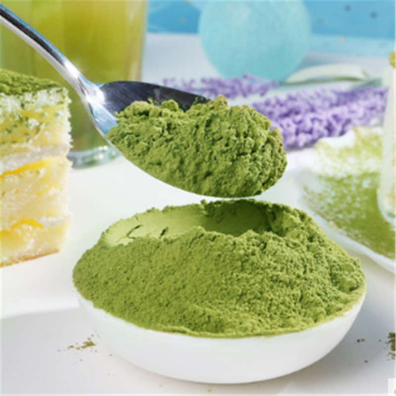Organic water soluble jasmine flavor matcha with box - 4uTea | 4uTea.com
