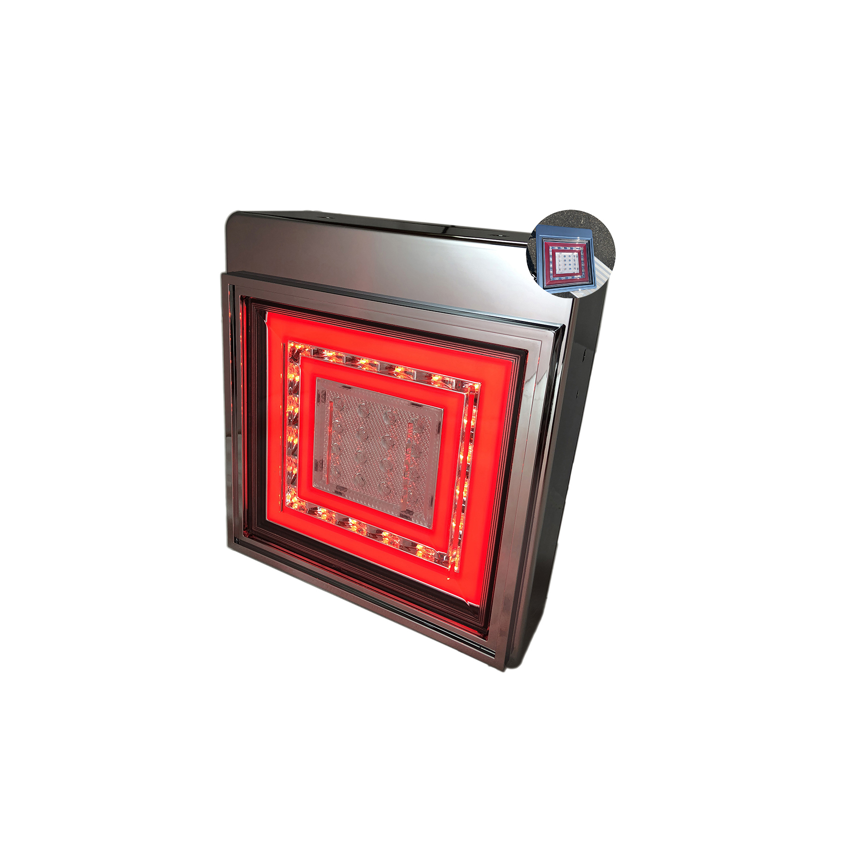 Commercial ruck trailers led indicator 24v tail trail lights