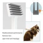 4-in-1 pet hair comb Professional New Style Dog Dematting Comb Pet Grooming Tool