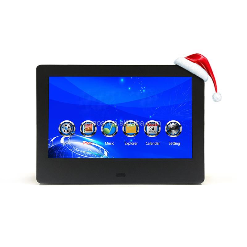 Супермаркет шельфа реклама продвижение экран 7 дюймов дисплей датчик движения, lcd видео проигрыватель