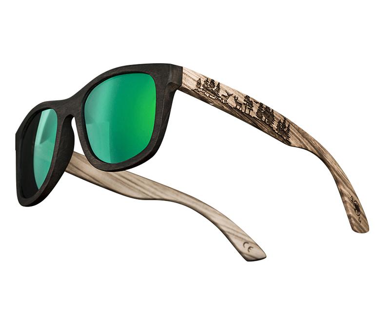 Lunettes de soleil en gros chine lunettes de soleil pour hommes en bois bambou à la mode