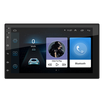 Cheapest price android 2 din Car Radio 7 inch FM Bluetooth HD Touch Screen USB wifi AUX-in mp5 gps player