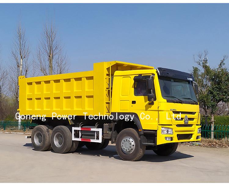 फैक्टरी सीधे बेचने इस्तेमाल किया howo डंप ट्रक टिपर ट्रकों 6x4 sinotruk 371hp बिक्री के लिए 375hp