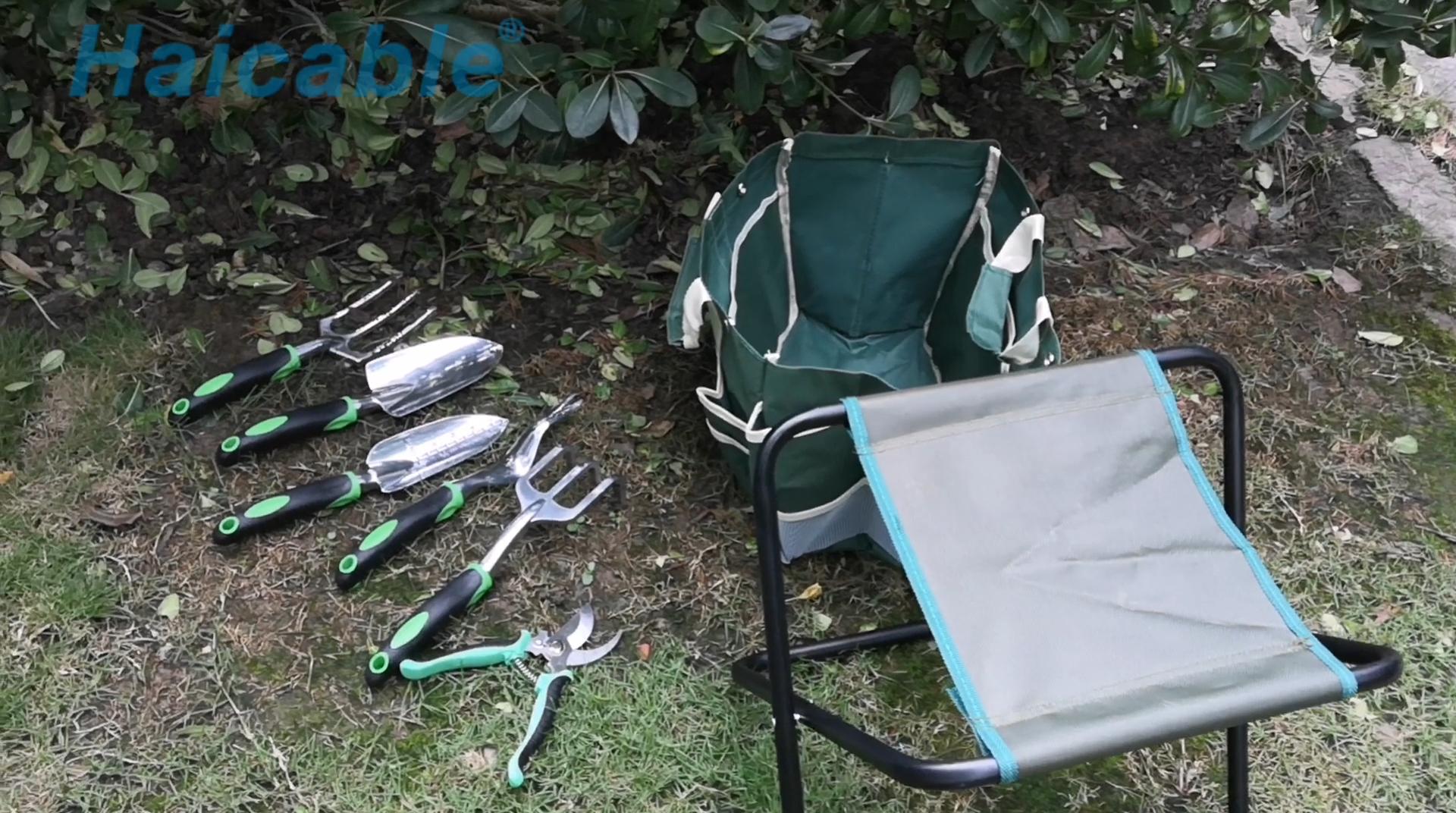 도구 정원 세트 GA-3 전문 디자인 집 심기 의자 미니 정원 도구 키트