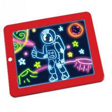 3D магический коврик для рисования, светодиодный светильник, светящаяся доска, интеллектуальная развивающая игрушка, детская живопись, обуч...(Китай)