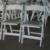 Folding event chairs plastic chair