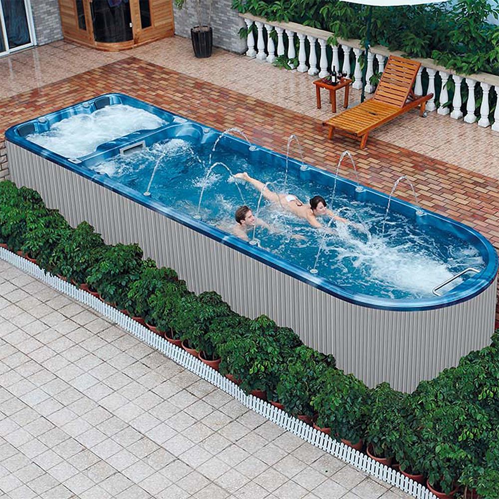 Square Above Ground Pool Fiberglass Inground Pool,Swimming ...