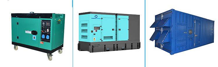 25kva 40kva 100kva 125kva 250kva 300kva 400kva di alimentazione a basso numero di giri elettrico super silenzioso generatore diesel