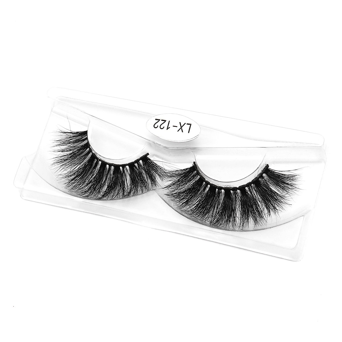 Chinese brand natural thick long handmade mink 3D false eyelashes