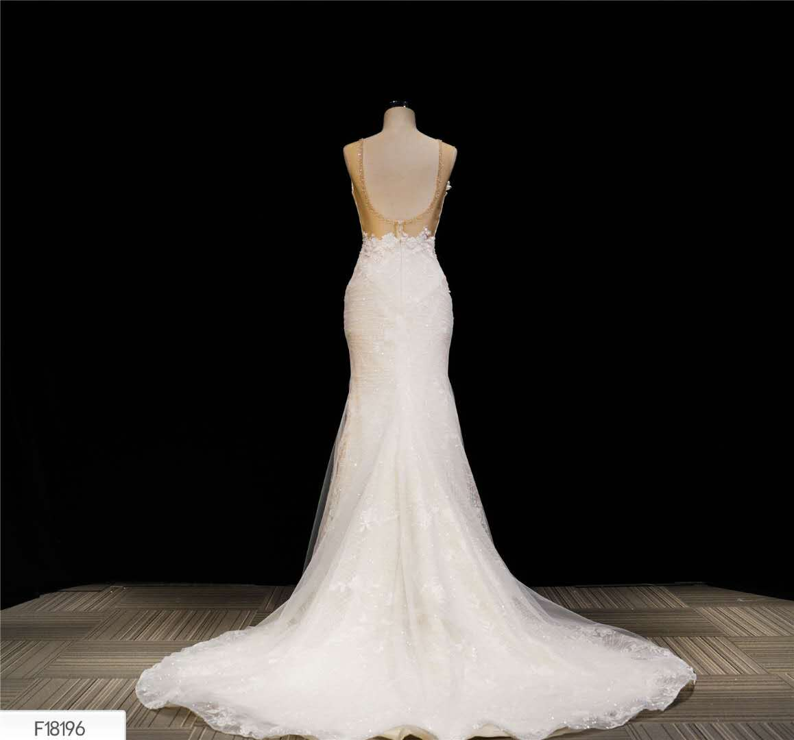 Fish tail long simple French sen department super fairy dream temperament wedding dress 2020