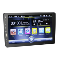 HD Full Touch Screen 1 Din 9'' Android Car Stereo Audio Radio In-dash USB/FM/AM/RDS Car DVD Player