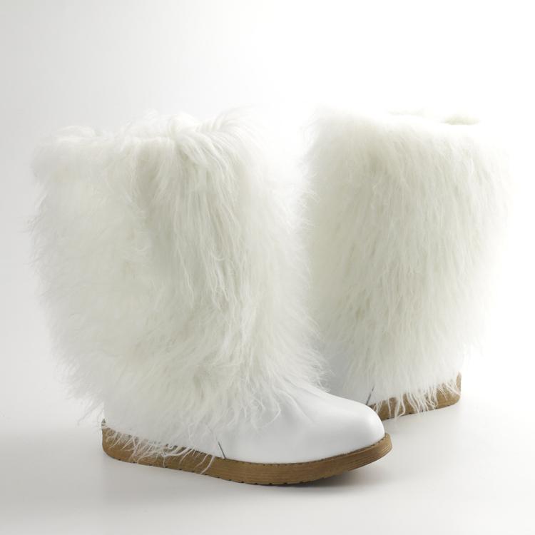 Kaufen Sie im Großhandel Weiße Lederstiefel Für Damen 2020