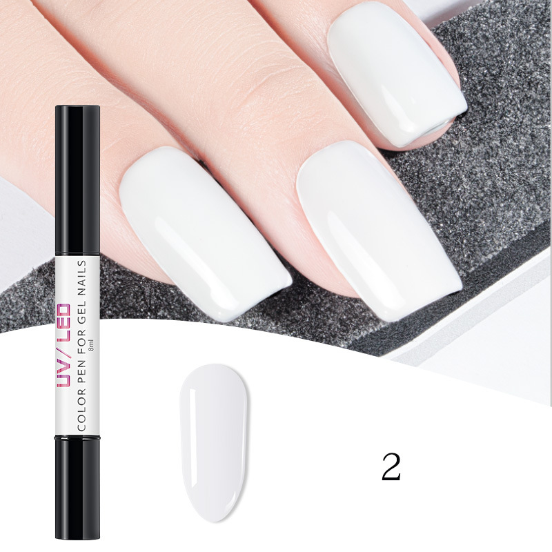 private label soak off  3 in 1 nail gel polish pen ,Easy to use and portable one step UV gel color nail polish pencil