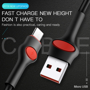 New style pvc 2A fast charging micro usb data cable mobile phones multi charger usb c cable for iphone 11
