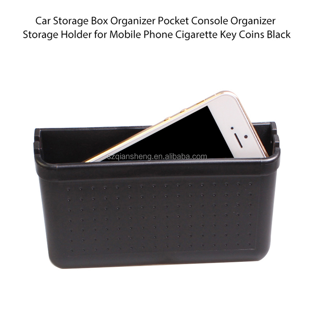 Portable  Universal Car Cell Phone Holder  Mobile Phone Charge Box Holder Pocket Organizer  car Storage Box