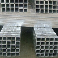 Building material steel square pipe/rectangular hollow section galvanized steel square pipe tube Q195 Q215 Q235 35#