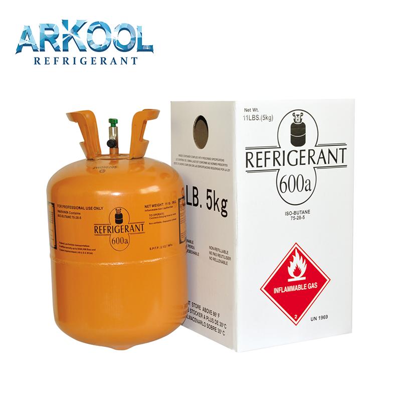 Refrigerant Reagent R600A 420g Isobutane Gas