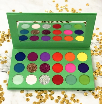 Best Selling Super Pigment Matte Shimmer glitter Eyeshadow palette makeup in Stock with Fast Shipping