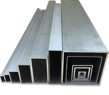 Toshine 40x40 square tube aluminium 60mm, square tube 100x100 200x200 mm aluminium