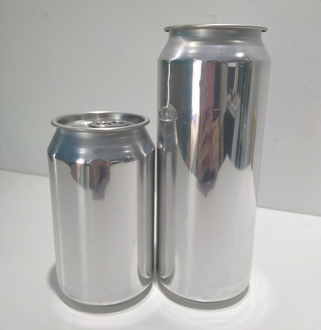 330ml 12oz Empty Aluminium Soda Pop Can With Easy Open End Lid For Beverage Drinking