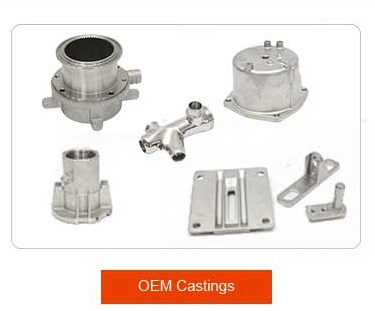 CNC machining valve body parts and pump casting
