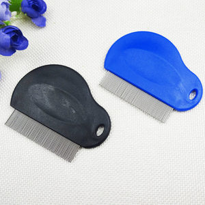 Best selling metal stainless steel pins lice comb for kids