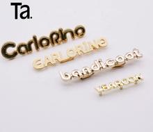 di buona qualità sono diversamente prodotto caldo Promozione Piccolo Lettere In Metallo Per Borse, Shopping online ...