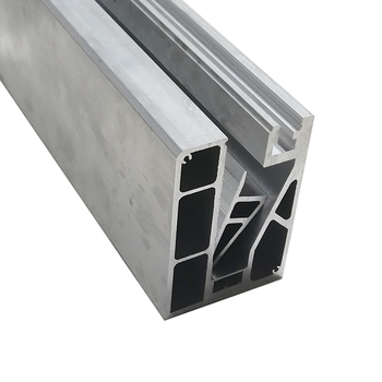 New design aluminium u channel for 10mm glass railing u channel glass balustrade