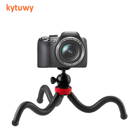 "Portable And Adjustable Mini Flexible smartphone mobile Tripod Stand 1/4"" Ball head for Camera Mobile Phone"