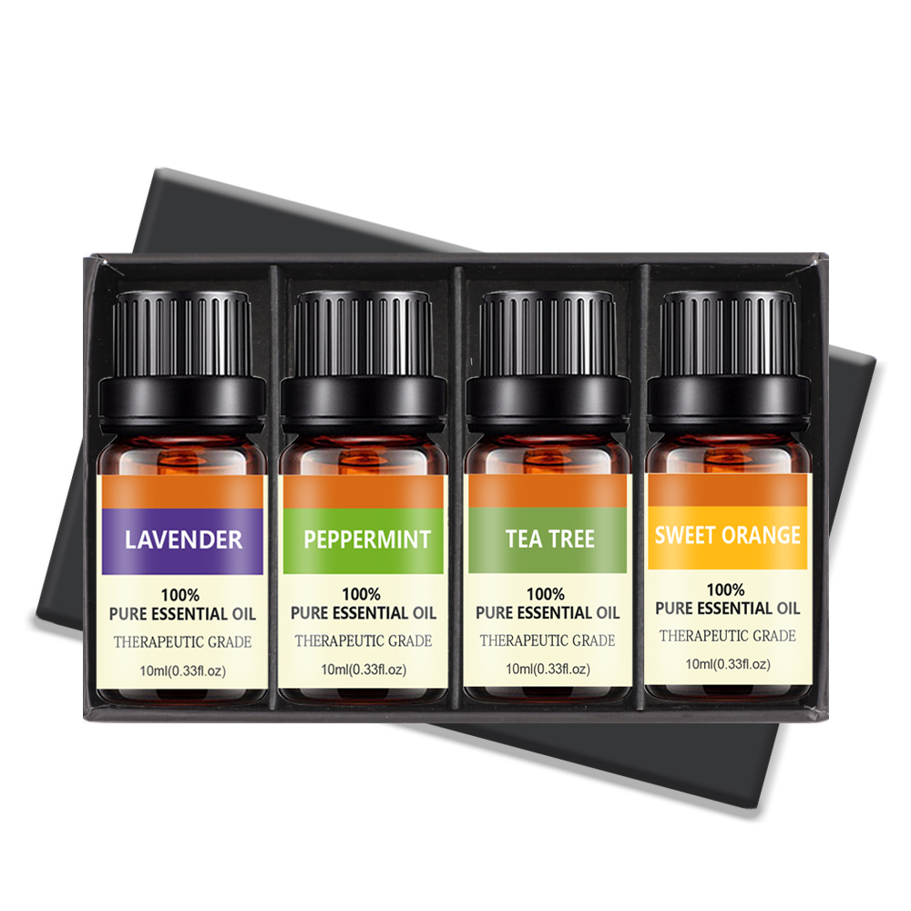 Pure Difuser Essential Oil for Aromatherapy Diffuser 10ml Gift Set Tea Tree Essential Oil