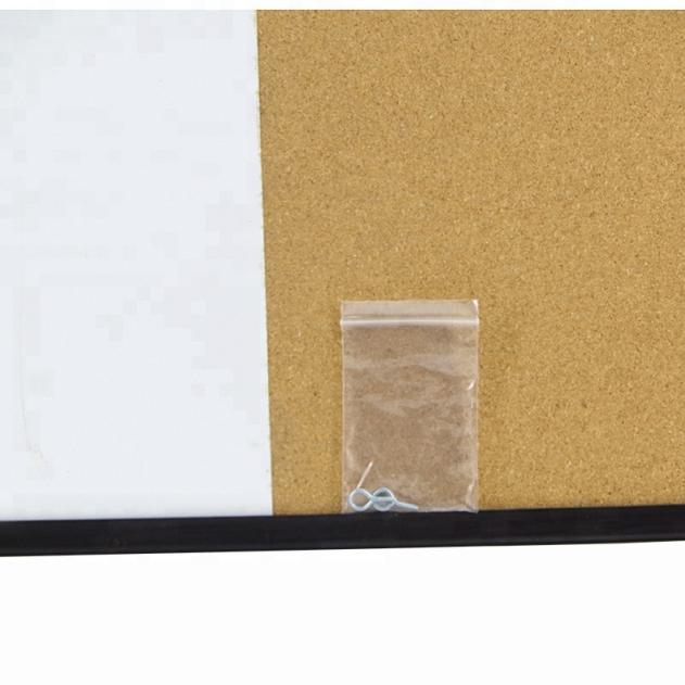 Комбинированная Магнитная сухая стереть белая доска пробка доска объявлений