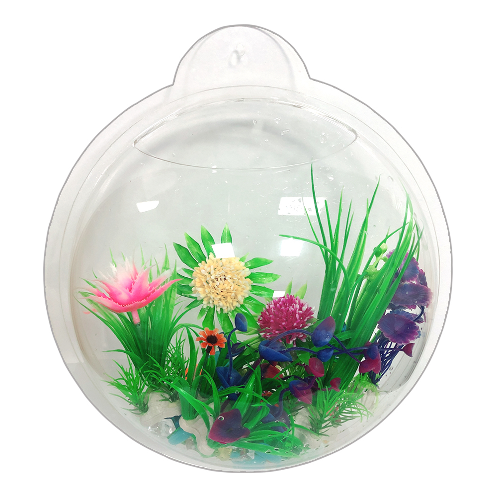 Wholesale Best Selling Wall mounted Acrylic <strong>Fish</strong> aquarium Mini Acrylic <strong>Fish</strong> Tank for Sale